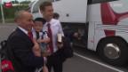 Video «Fussball: Die Männer-Nati vor dem EM-Quali Spiel gegen Litauen» abspielen