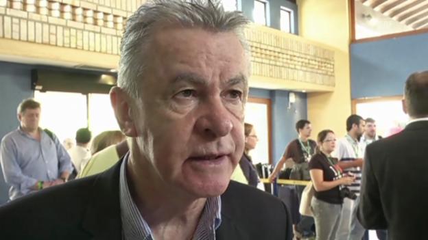Video «Ottmar Hitzfeld nach dem FIFA-Workshop (EVS, 20.2.14)» abspielen