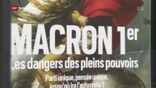 Video «Politischer Neustart in Frankreich» abspielen