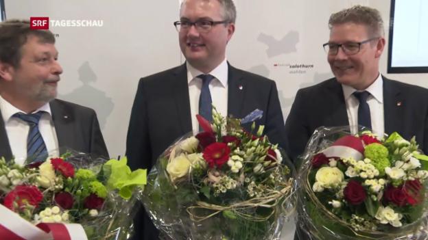 Video «Regierungsratswahlen in Solothurn» abspielen