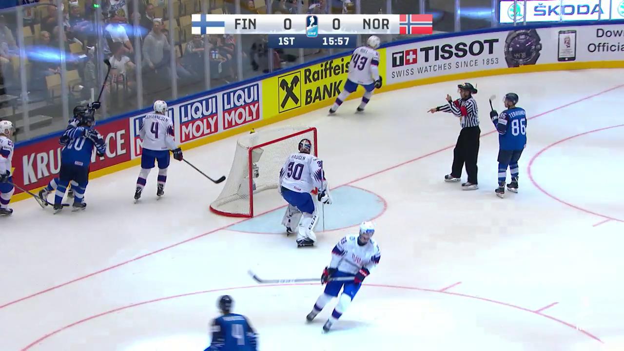 Die Tore bei Finnland - Norwegen
