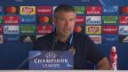 Video «FCB-Coach Fischer warnt vor Ludogorets» abspielen