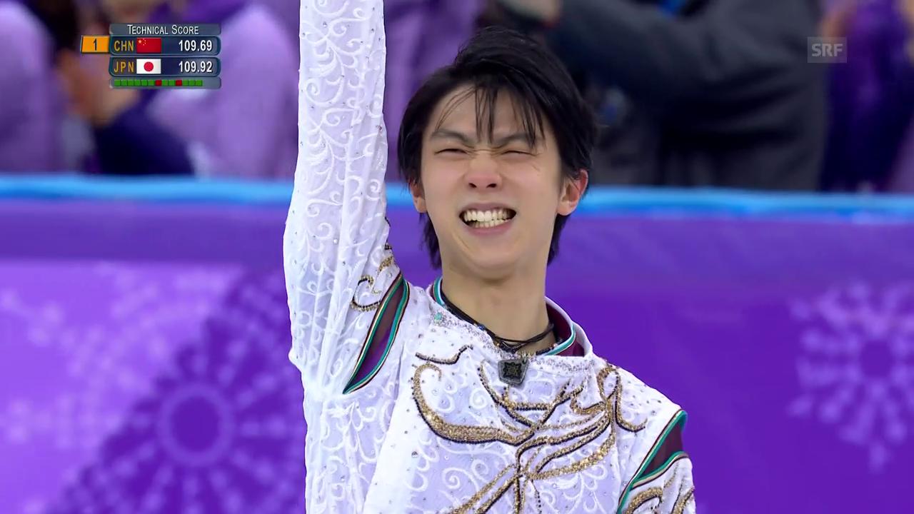 Hanyu ist erneut Olympiasieger
