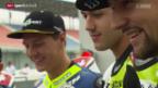 Video «Motorrad: GP von Katar, Qualifying» abspielen