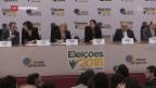 Video «Rechtspopulist in Führung bei Brasilien-Wahl» abspielen