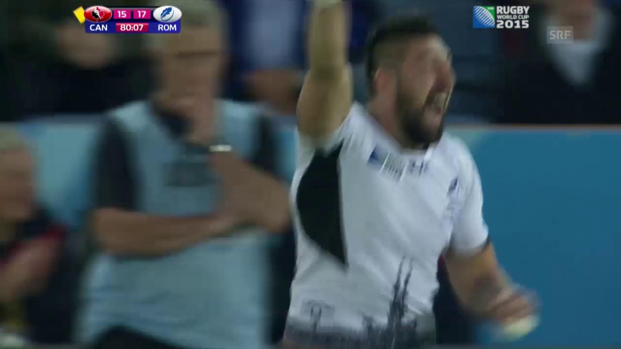 Rugby-WM: Rumänien-Kanada (sntv)