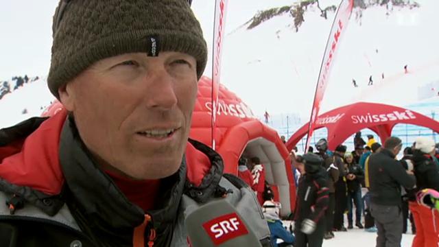 Zurbriggen & Co.: Ex-Ski-Asse unterstützen ihre Kinder