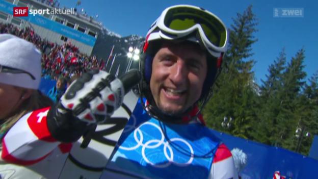 Video «Ski: Silvan Zurbriggens Rücktritt» abspielen