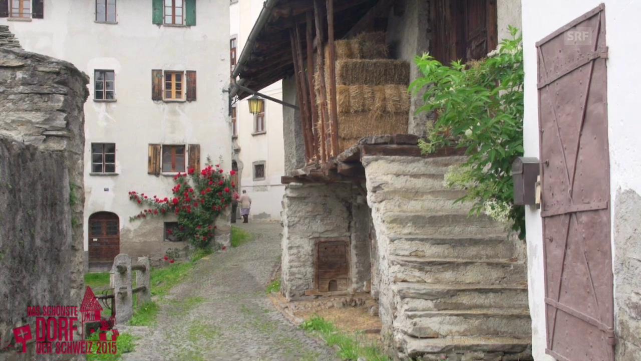 Wird Soglio das schönste Dorf der Schweiz 2015?