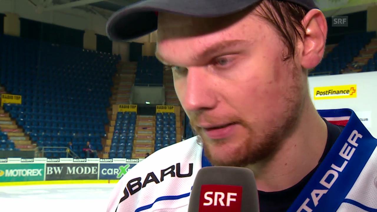 Eishockey: Interview mit ZSC-Goalie Lukas Flüeler
