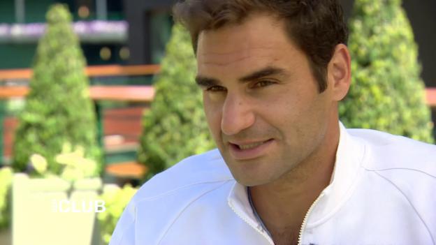 Video «Roger Federer: «Ich sehe mich nur als Tennisspieler»» abspielen