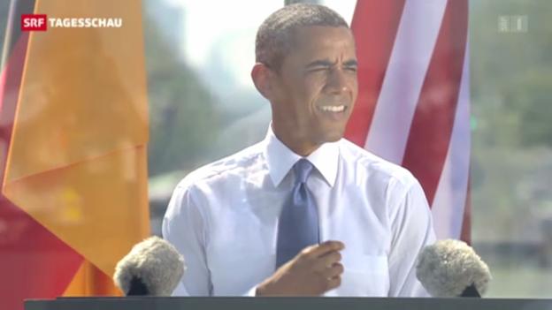 Video «Obama in Berlin» abspielen