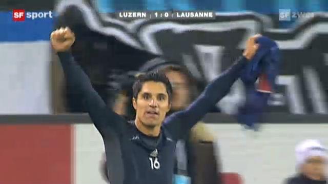 FC Luzern zurück auf dem Leaderthron