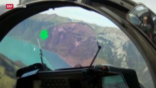 Video «Gripen gewinnt an Flughöhe» abspielen