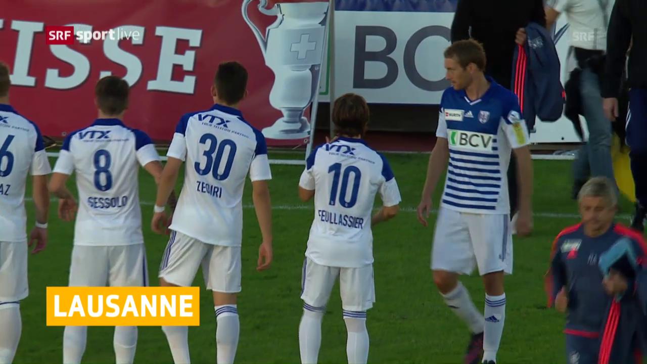 Lausanne steigt in die Super League auf