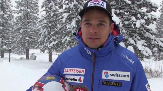 Video «Ski: Patrick Küng über seinen neuen Helmsponsor» abspielen
