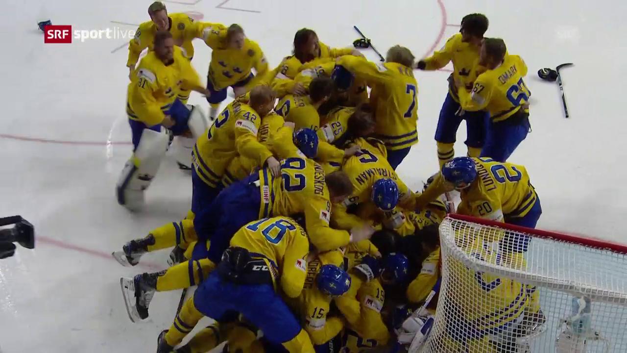 Henrik Lundqvist pariert – und stürzt Schweden in einen Freudentaumel