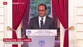 Video «Frankreich kämpft gegen IS» abspielen