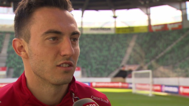Video «Fussball: Interview mit Josip Drmic» abspielen