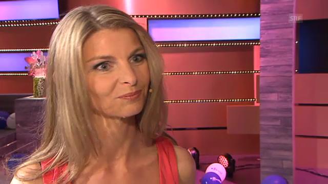 Franziska Wigger über ihr «Alperöösli»-Patenkind