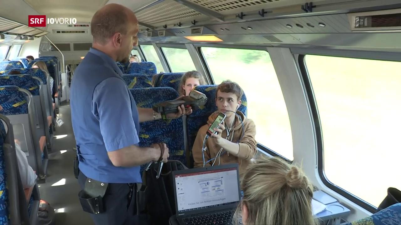 «Die Idee»: Fahrgastbetreuung in Zügen