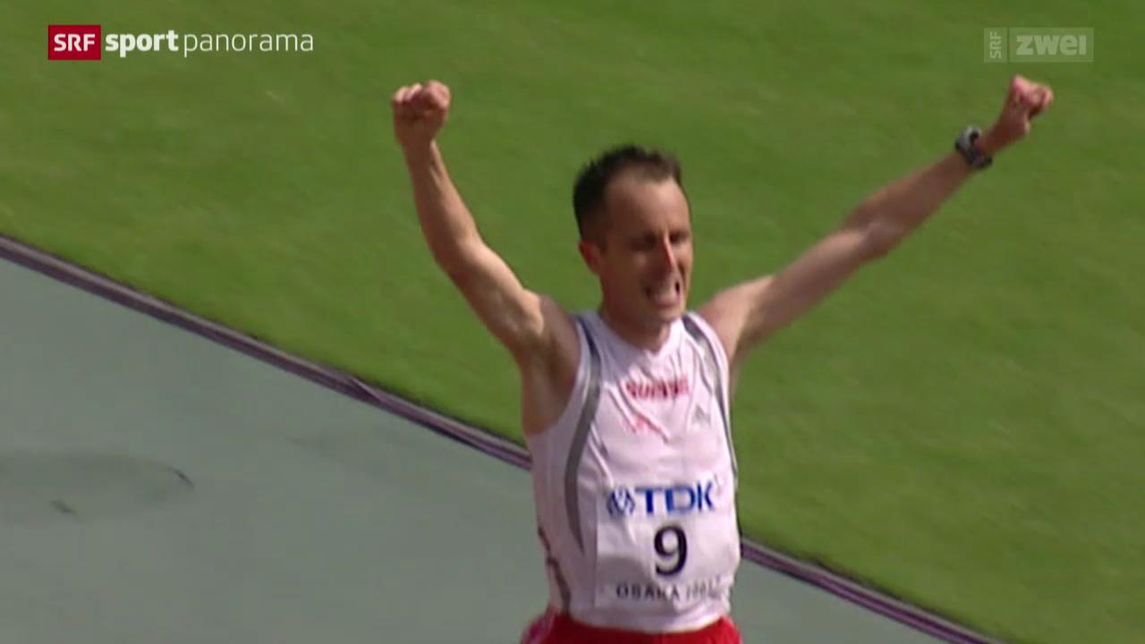 Leichtathletik: Die Marathon-Welt von Viktor Röthlin