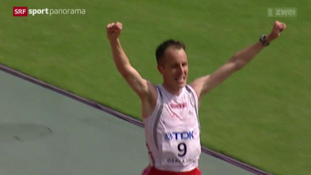Video «Leichtathletik: Die Marathon-Welt von Viktor Röthlin» abspielen