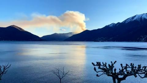 Ascona/TI, 7. April, #SRFMeteoVideo Andreas Lorenz