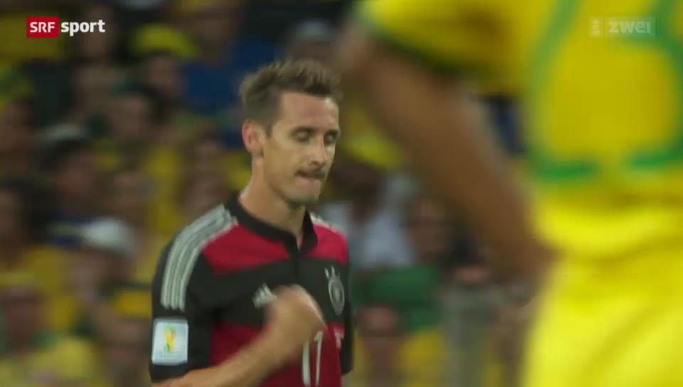 WM 2014: Klose - der WM-Rekordschütze