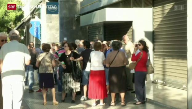 Video «Griechenland vor dem Kollaps» abspielen