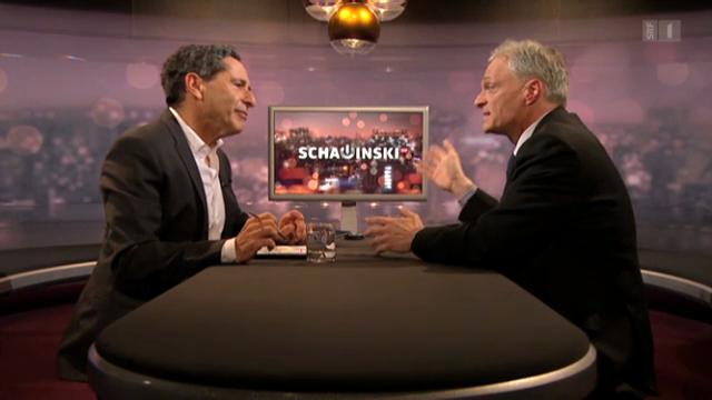 Thomas Minder bei Roger Schawinski (4.2.2013)