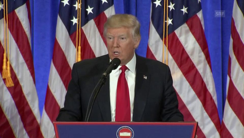 Trump zu den Hackerangriff im Wahlkampf