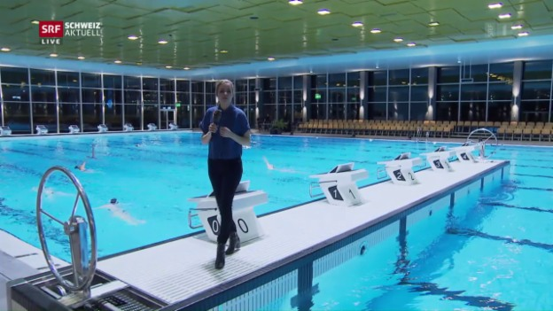 Video «Grösstes Hallenbad der Schweiz eröffnet» abspielen