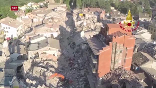 Video «Viele Menschen haben alles verloren» abspielen