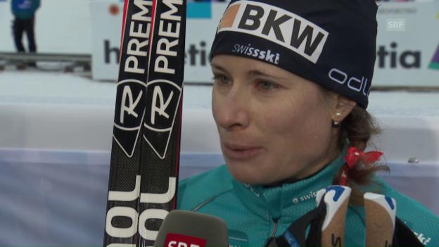 Video «Langlauf-Staffel – Norwegen historisch, Schweiz stark» abspielen
