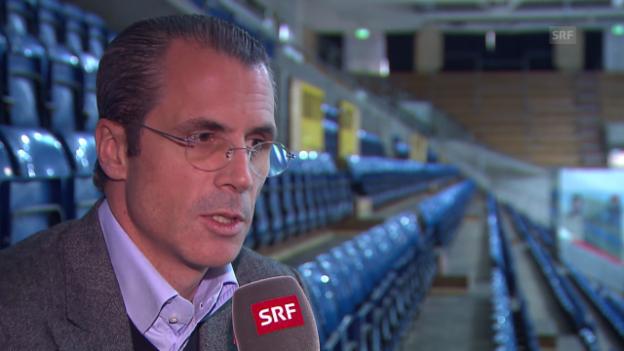 Video «Eishockey: Kloten-Präsident Philippe Gaydoul im Interview» abspielen