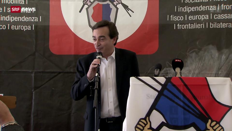 Lugano trauert um Stadtpräsident Borradori