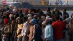 Video «Sondergipfel nach Flüchtlingsdramen» abspielen