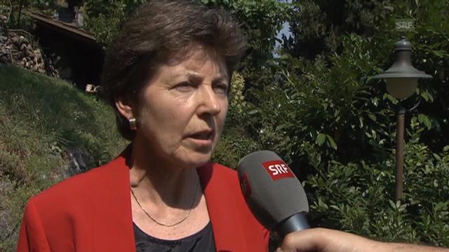 Riklin: «Müssen über Chancen und Risiken informieren»