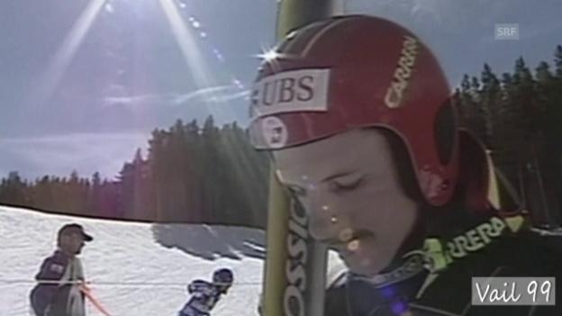 Video «Ski-WM 1999: Schlechte Stimmung im Schweizer Team» abspielen