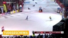 Video «Schweizer Snowboarderinnen verpassen Podest in Bad Gastein» abspielen