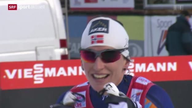 Video «Langlauf: Tour de Ski, Prolog Frauen Oberstdorf» abspielen