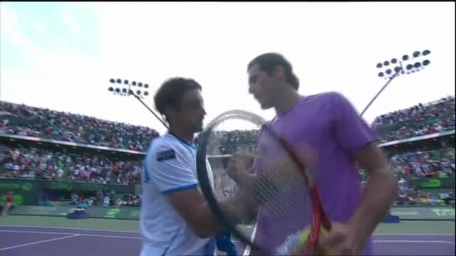 ATP Miami: Highlights Ferrer - Haas (unkommentiert)