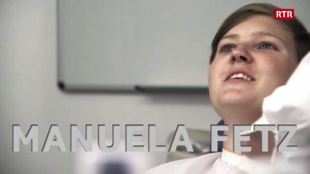 Laschar ir video «Tgi è Manuela Fetz?»