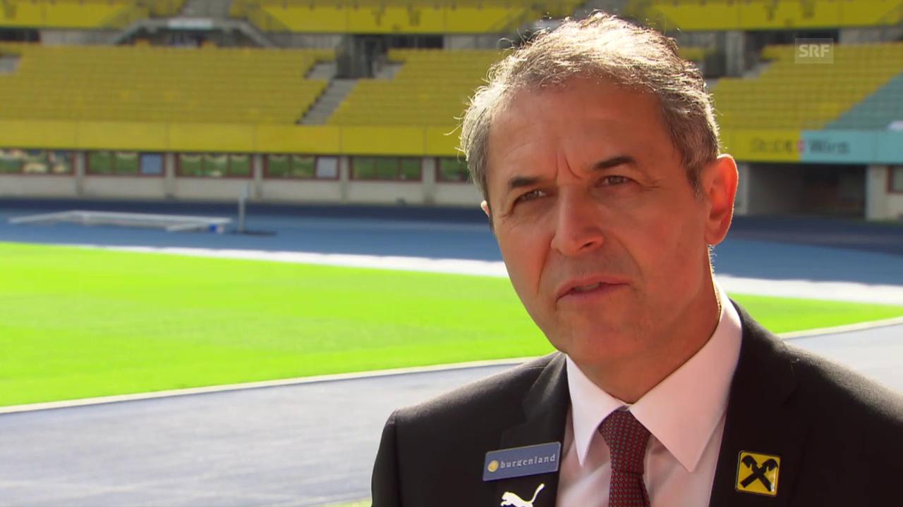 Fussball: Marcel Koller über sein Stammteam