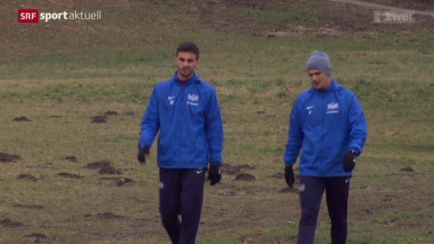 Video «Fussball: Die neuen Spieler beim FCZ» abspielen