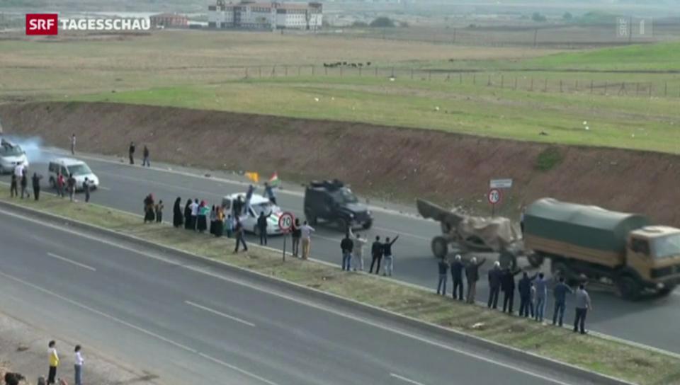 Hilfe für Kobane naht