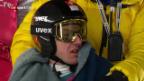 Video «Simon Ammann wartet bei -10 Grad 20 Minuten auf seinen Sprung!» abspielen