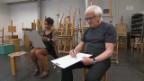 Video «Gilbert Gress, Fabienne Louves, Monique, Skor: Ran an den Pinsel» abspielen