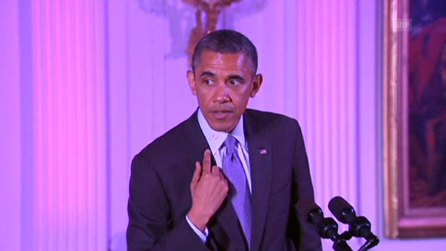 Barack Obama und der rote Lippenstift